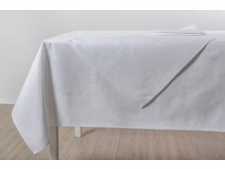 Set fata de masa Alba 150*250 cm cu 6 servetele 48*48 cm, 7 piese