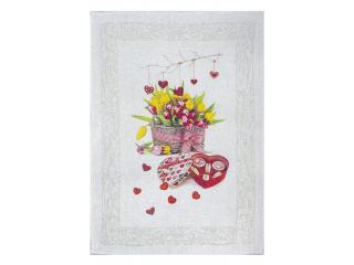 Valentine*s Prosop 49*70 cm, 1 buc