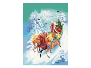 "Prosop ""Christmas"" 50*70 cm, 1 buc"
