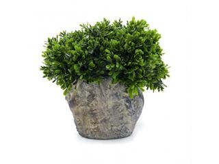 """Floare artificiala """"Bosso """" h40 cm,green, 1 buc."""