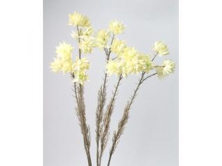 """Floare artificiala """"Lotus"""" H65cm, Cream, 1 buc"""