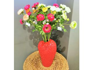 Vaza ''Chakra Fragola'' , h31cm, d18cm,red,1 buc.
