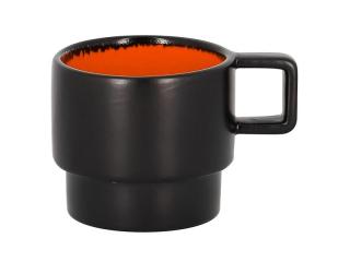 """Fire orange"" Cana pt espresso 90ml.,1buc."