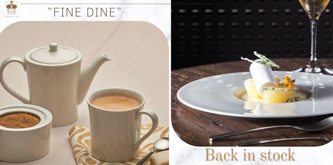 """Colecția """"Fine Dine"""" By RAK Porcelain Deja în vânzare la Perla!"""