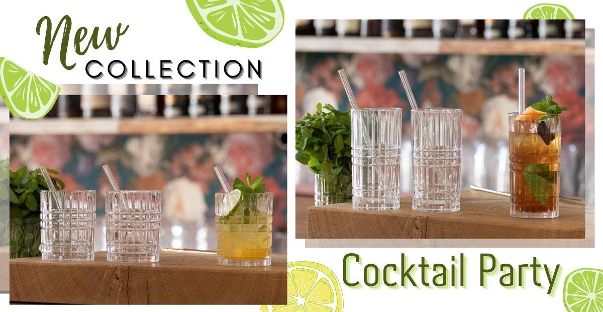 Cele mai diverse pahare de cocktail Deja în vanzare la Perla!
