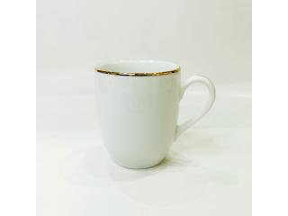"""""""Gold Line"""" Cana p/t ceai d-8,2cm h-9,7 cm, 260 ml, 1 buc."""
