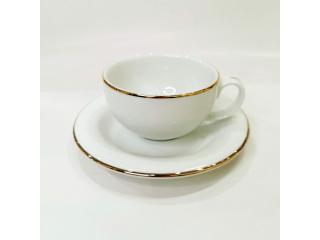 """""""Opus Gold"""" Cana p/u ceai cu farfurioara, c-11 cm s-17,9 cm, 1 set"""