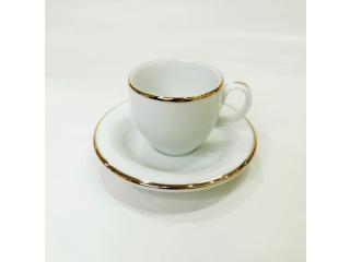 """""""Opus Gold"""" Cana p/u cafea cu farfurioara, c-6,2cm s-11,6 cm, 1 set"""