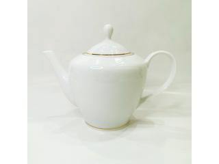 """""""Simplicity Thick Edge Gold"""" Ceainic pentru ceai d-6,9cm h-12,7cm, 1,2l, 1 buc."""