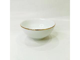 """Simplicity Thick Edge Gold"" Bol 11,7 cm, 1 buc."