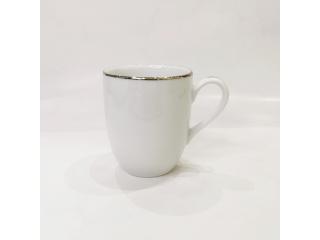 """""""Silver Line"""" Cana pt.ceai d-8,2cm h-9,7 cm, 260 ml, 1 buc."""